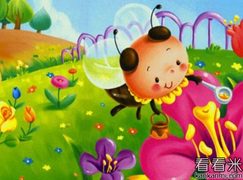【小蜜蜂和花房子】的故事
