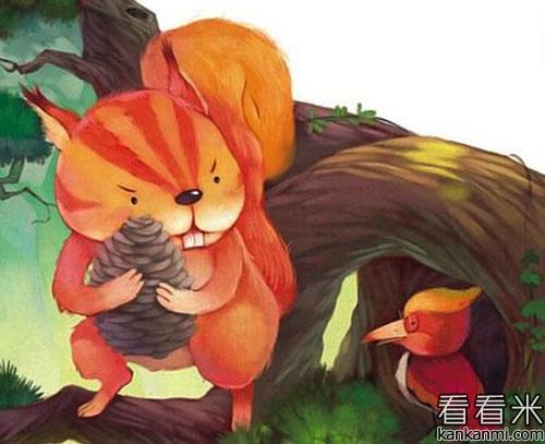 【听见春天的小松鼠】的故事