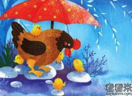 安徒生童话精选【看鸡人格瑞得的一家】