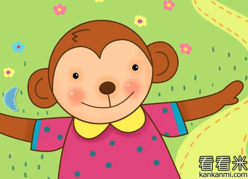 寓言小故事【小猴子的好東西】